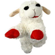 Multipet 48375 10 Inch Lamb Chop Dog Toy