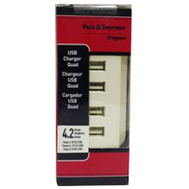 Pass & Seymour TM8USB4LACC6 ALM 4 USB Out Charger