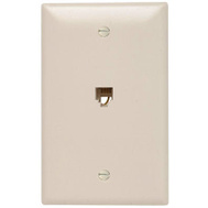Pass & Seymour TPTE1LACC12 Almond 1G Telephone Jack