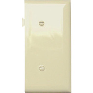 Pass & Seymour PJSE14I Ivory Blank End Section Sectional Nylon Wall Plate