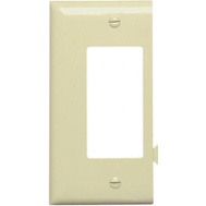 Pass & Seymour PJSE26I Ivory Decorator Opening End Section Sectional Nylon Wall Plate