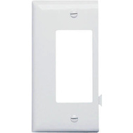 Pass & Seymour PJSE26W White Decorator Opening End Section Sectional Nylon Wall Plate