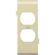 Pass & Seymour PJSC8I Ivory Duplex Outlet Opening Center Section Sectional Nylon Wall Plate