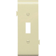Pass & Seymour PJSC1I Ivory Toggle Opening Center Section Sectional Nylon Wall Plate