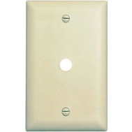 Pass & Seymour SP11IU Ivory 1 Gang Telephone Wall Plate