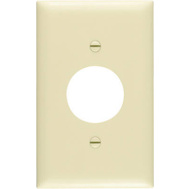 Pass & Seymour TP7ICC30 White 3 Gang 3 Toggle Openings Nylon Wall Plate