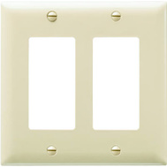 Pass & Seymour TP262ICC30 Ivory 2G Decor Wall Plate