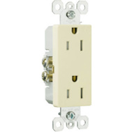 Pass & Seymour 885TRICC8 15 A Ivory Resistreceptacle