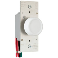 Pass & Seymour R603PLTKV 600W 3 Way Almond Rotary Dimmer