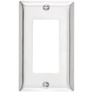 Pass & Seymour SS26CC25 1 Gang Stainless Steel Wall Plate