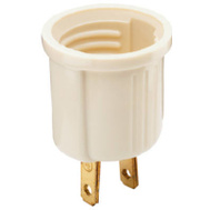 Pass & Seymour 61ICC10 Ivory Edison Socket Adapter