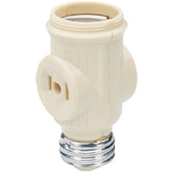 Pass & Seymour 1403ICC10 Ivory Lampholder Current Tap