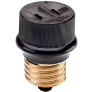 Pass & Seymour 808CC10 Brown Lampholder Adapter
