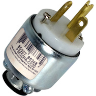Pass & Seymour PS520PACC20 20 Amp 125 Volt White Armored Plug
