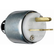 Pass & Seymour PS615PACC20 15 Amp 250 Volt White Armored Plug