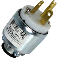 Pass & Seymour PS620PACC20 20 Amp 250 Volt White Armored Plug