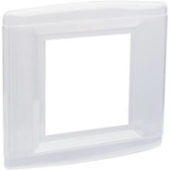 Pass & Seymour S1142CC5 2 Gang Clear Wall Shield