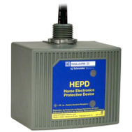 Square D HEPD80 Home Electronic Protective Device Protects Appliances & Equipment That Are Not Plugged Into A Surge Strip