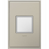 Pass & Seymour ARPTR151GW2 1g Wht Pop Out Outlet