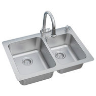American Standard 18CR.332232C.075 Sink Kitchen Kit 22X33in