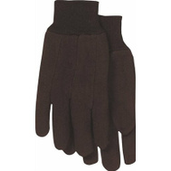 Cordova 14001 9 Oz Brown Jersey Cotton Poly Blend Gloves Large