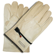 Cordova S82314 Stanley Grain Cowhide Drivers Gloves With Ball And Tape Extra-Large