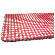 Kwik Covers 3096PKRW 30 By 96 Red And White Gingham Tablecover