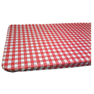 Kwik Covers 3072PKRW 30 By 72 Red Gingham Table Cover