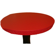 Kwik Covers 60PKR 60 Inch Round Red Table Cover