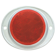 Uriah Products UL472001 3 Inch RED Trail Reflector