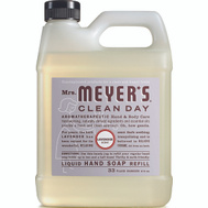 Mrs Meyers 11163 Soap Hand Refill Lavender 33 Ounce