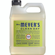 Mrs Meyers 12163 Soap Hand Refill Lemverb 33 Ounce