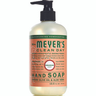 Mrs Meyers 13104 Soap Liq Hand Geranium 12.5 Ounce