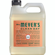 Mrs Meyers 13163 Soap Hand Refill Geranium 33 Ounce