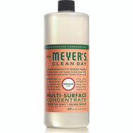 Mrs Meyers 13440 Cleaner Geran Concentrate 32 Ounce