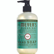 Mrs Meyers 14104 Soap Liquid Hand Basil 12.5 Ounce