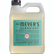 Mrs Meyers 14163 Soap Hand Refill Basil 33Ounce