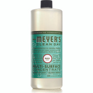Mrs Meyers 14440 Cleaner Basil Concentrate 32 Ounce