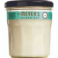 Mrs Meyers 44116 Candle Soy Basil 7.2 Ounces