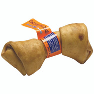 Cost Less Pet Treats 1798 Treat Knot Rawhide Hickory 7In
