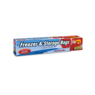 Delta Brands & Products Llc 6079-24 Power House Zipper Seal Gallon Freezer & Storage Bags Package Of 15