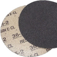 Virginia Abrasives 207-17036 17 Inch Quicksand Disc 36 Grit Extra Coarse