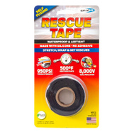 Harbor Products RT1000201201USC01 12 Foot Roll Silicone Self Fusing Tape Black