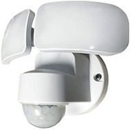 Power Zone O-OV-2200M-PW Light Led Security 2200L Wht