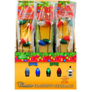 Santas Forest 25111 Necklace Flashing Classic Bulb