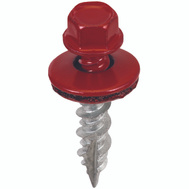 Acorn SW-MW1CR250 Metal To Wood Building Screws 1 Inch Crimson
