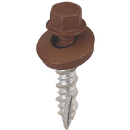 Acorn SW-MW1BN250 Metal To Wood Building Screws 1 Inch Brown