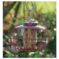 World Source NT051 Lantern Bird Feeder Squirrel Resistant .9 Pounds Seed Capacity Squirrel Resistant