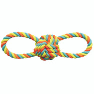 Boss Pet WB15522 Toy Pet Rope Ball/Tpr