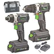 RichPower GL20DIDKA2 Genesis 20V Lithium-Ion Drill And Impact Driver 2 Tool Combo Kit